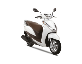 Honda lead 125cc - phiên bản cao cấp - trắng nâu