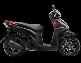 honda vision 110cc - phiên bản cao cấp - đen mờ