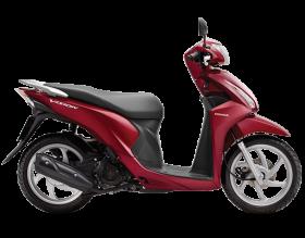 honda vision 110cc - phiên bản thời trang - đỏ đậm