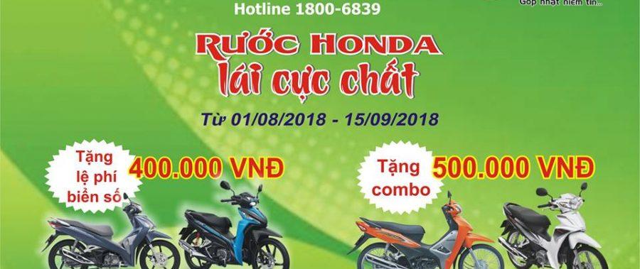 """TĂNG NHIỆT MÙA HÈ CÙNG """"RƯỚC HONDA, LÁI CỰC CHẤT"""""""