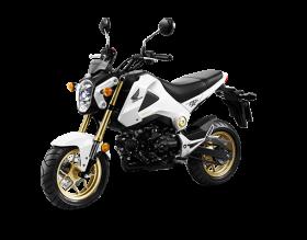 honda msx 125cc - trắng