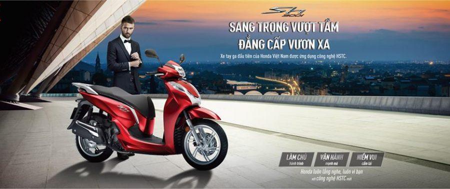 Honda Việt Nam bổ sung hệ thống HSTC cho phiên bản mới SH300i