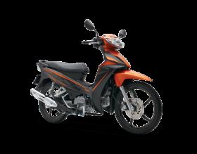 Honda Blade 110cc - thể thao - đen cam