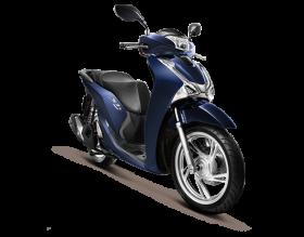 Honda SH125i - CBS - Xanh lam-đen