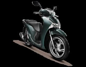 Honda SH125i - ABS - xanh lục-đen