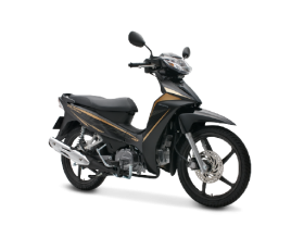Honda Blade 110cc - thể thao - đen