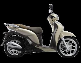honda sh mode 125cc - phiên bản thời trang - vàng