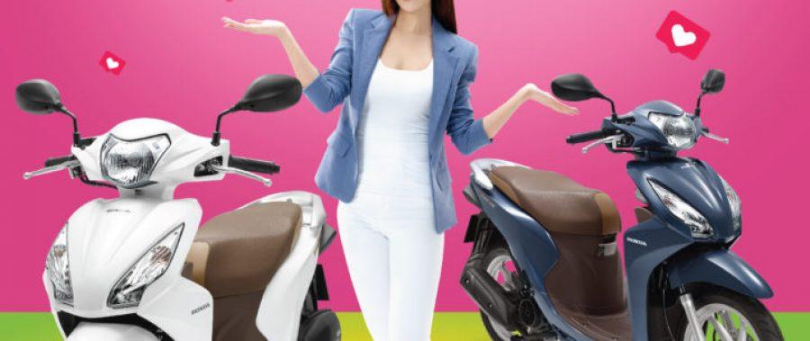 Honda VISION phiên bản mới – Tích hợp hệ thống khóa thông minh Honda SMART Key